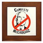 Anti-McCain: Complete McCainiac Framed Tile