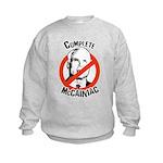 Anti-McCain: Complete McCainiac Kids Sweatshirt