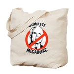 Anti-McCain: Complete McCainiac Tote Bag