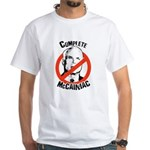 Anti-McCain: Complete McCainiac White T-Shirt