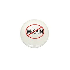 Anti-McCain Mini Button (100 pack)