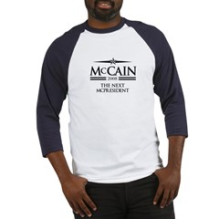 McCain 2008: The next McPresident Baseball Jersey