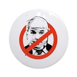 ANTI-MCCAIN Ornament (Round)