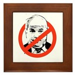 ANTI-MCCAIN Framed Tile
