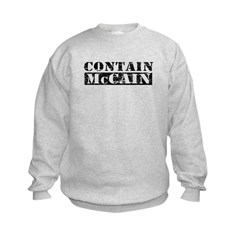 CONTAIN MCCAIN Kids Sweatshirt