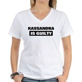 KASSANDRA is guilty Shirt