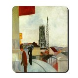 Cathedral by Franz Marc Mousepad