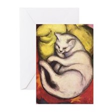 Cat on a Cushion Greeting Cards (Pk of 10)