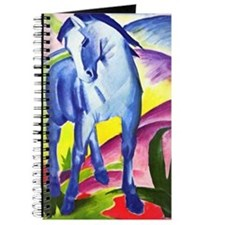 Blue Horse by Franz Marc Journal