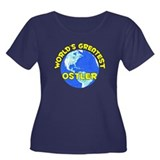 World's Greatest Ostler (D) Women's Plus Size Scoo