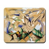 Birds Over the Village Mousepad