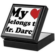 Mr. Darcy Lover Keepsake Box