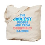 Coolest: Deerfield, IL Tote Bag