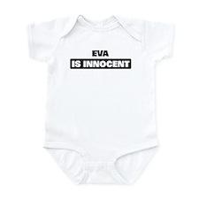 EVA is innocent Infant Bodysuit