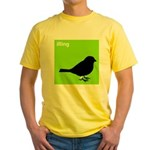 iRing (green) Yellow T-Shirt