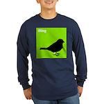 iRing (green) Long Sleeve Dark T-Shirt