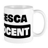 FRANCESCA is innocent Small Mugs
