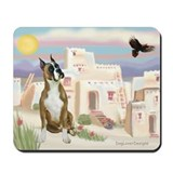 Adobe Village/Boxer Mousepad