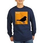 iBand (orange) Long Sleeve Dark T-Shirt