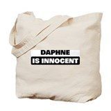 DAPHNE is innocent Tote Bag