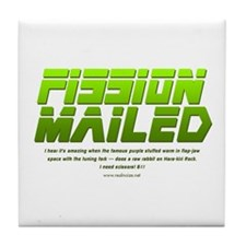 Fission Mailed Tile Coaster