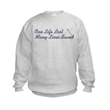 Many Lives Saved Sweatshirt