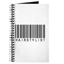Hairstylist Barcode Journal