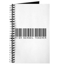 High School Teacher Barcode Journal