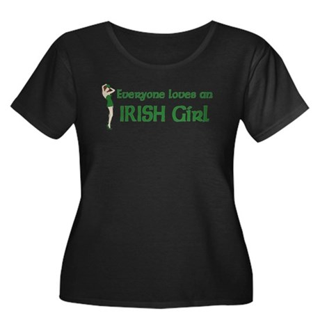 Everyone loves an Irish Girl Women's Plus Size Sco