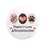 Peace Love Affenpinscher 3.5