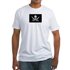 Calico Jack Rackham Pirate Flag Shirt