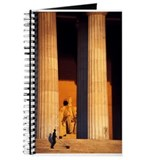 Journal - Lincoln Memorial, dawn, Sept. 12, 2001