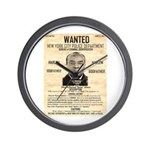 Wanted Bumpy Johnson Wall Clock