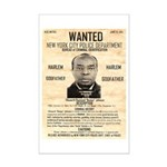 Wanted Bumpy Johnson Mini Poster Print