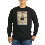 Wanted Bumpy Johnson Long Sleeve Dark T-Shirt