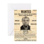 Wanted Bumpy Johnson Greeting Card