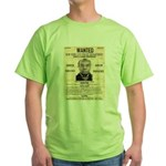 Wanted Bumpy Johnson Green T-Shirt