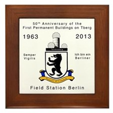 Field Station Berlin Framed Tile