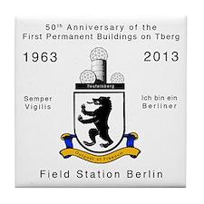 Field Station Berlin Tile Coaster