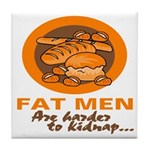 Fat Men Tile Coaster