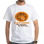 Fat Men White T-Shirt