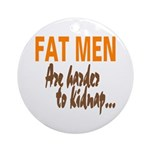 Fat Men Keepsake (Round)