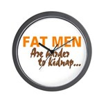 Fat Men Wall Clock