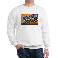 Grand Rapids Michigan Greetings Sweatshirt