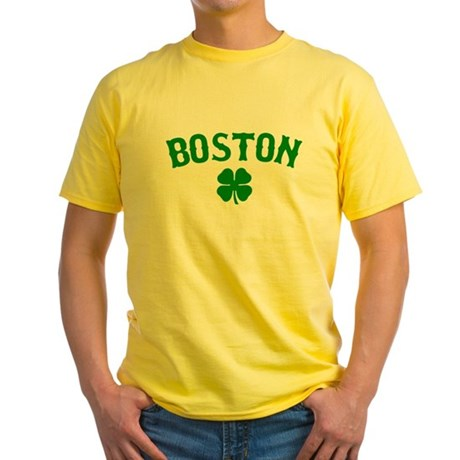 Boston Irish Yellow T-Shirt