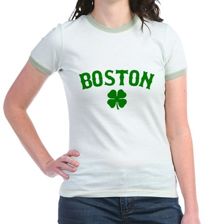 Boston Irish Jr. Ringer T-Shirt