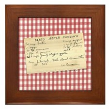 Apple Pudding Framed Tile