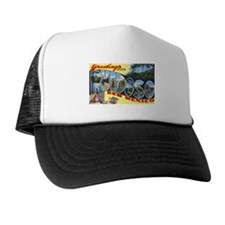 Ruidoso New Mexico Greetings Trucker Hat