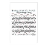 Running's Life Lessons - 5K Postcards (Package of