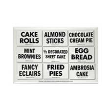 Bake Shop Rectangle Magnet
